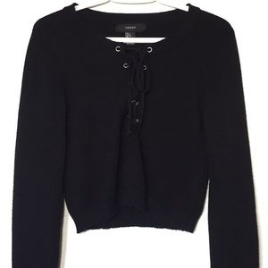 Forever21 Cropped Sweater